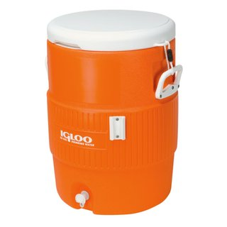 Igloo Kühler Kühlbehälter SEAT TOP 10 Gallon 38 Liter orange